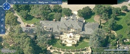 Celebrity home Oprah Winfrey