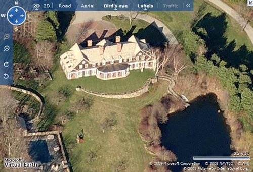 Celebrity home David Letterman