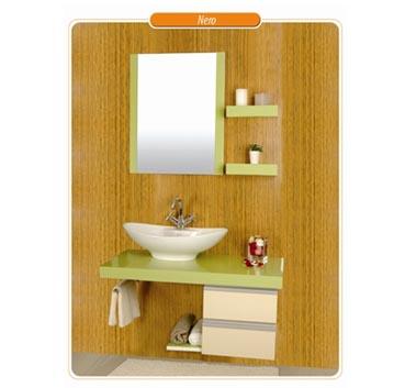 PVC комплект за баня НЕРО от KIVA INTERIOR